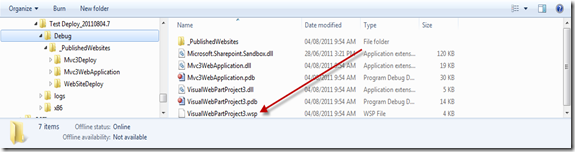 Team Build 2010 Drop Folder SharePoint 2010 .wsp