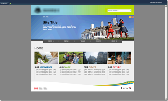 SharePoint 2010 Custom Master Page