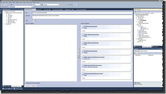 Visual Studio 2010 - SharePoint Feature