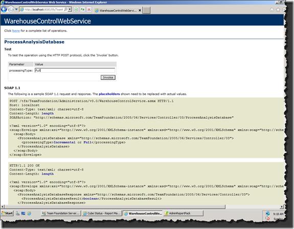 WarehouseControlWebService | ProcessAnalysisDatabase