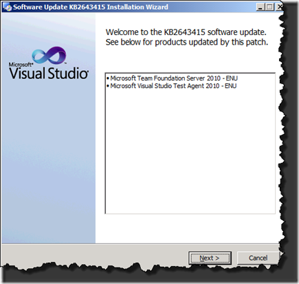 Cumulative Updates for TFS 2010 SP1 and VS 2010 SP1