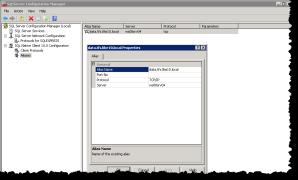 SQL Server Configuration Manager | Aliases