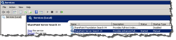 SharePoint Server Search 14
