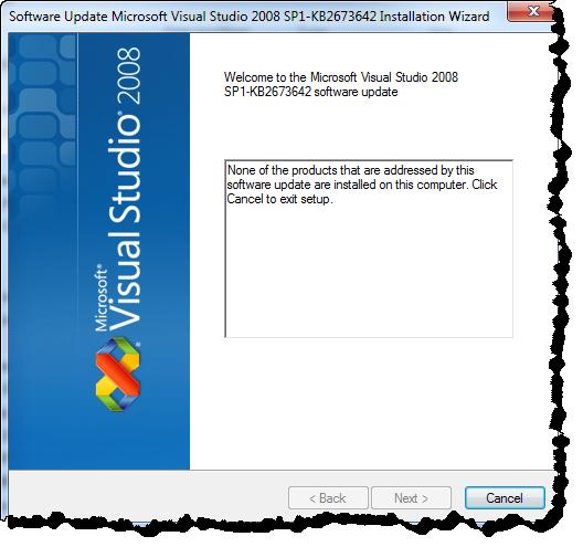 Visual Studio 2008 SP1 Team Foundation Server 2012