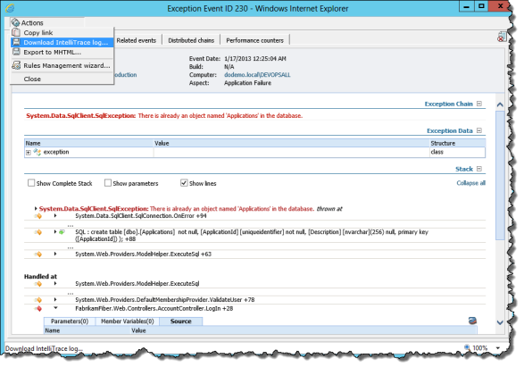 Download Intellitrace Capture