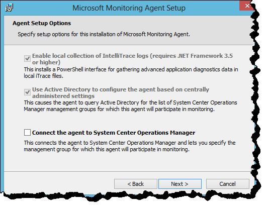 Microsoft Monitoring Agent