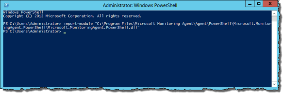 PowerShell as Administrator | import-module