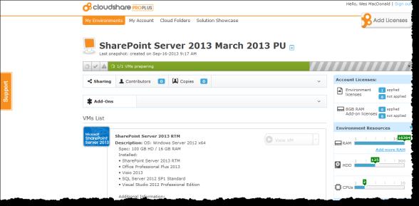 CloudShare ProPlus