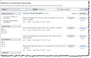 Release Management (MSDN)