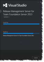 Release Management Server with Update 1