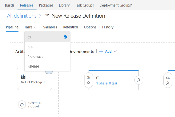 Continuous Delivery of your NuGet Packages with VSTS | Azure DevOps