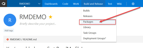 vsts-packages